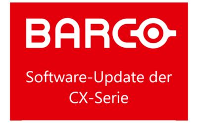 Barco CX Software-Update