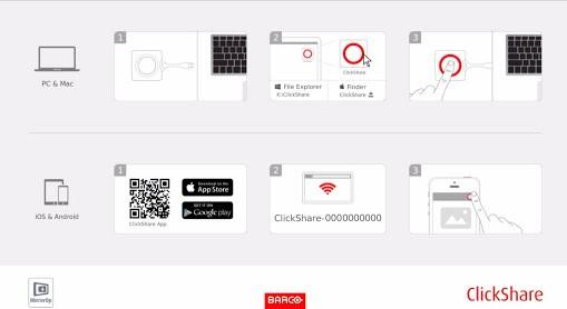 Barco ClickShare Hintergrundbild