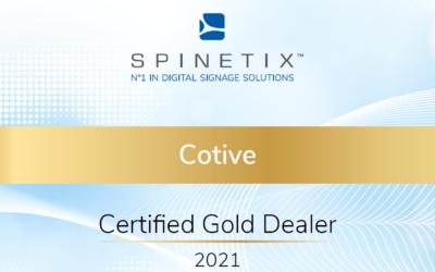 SpinetiX Gold-Partner Deutschland