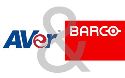AVer und Barco beschließen Zusammenarbeit